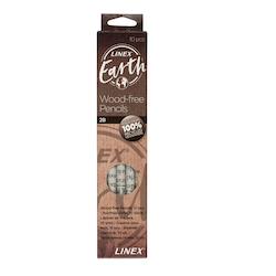 Linex Earth Blyertspennor 2B 10-pack