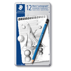 Staedtler Mars®Lumograph® Blyertspennor 12-pack