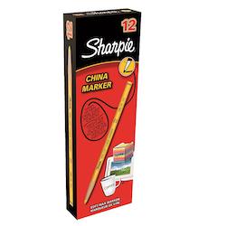 Sharpie China märkpenna 2mm gul