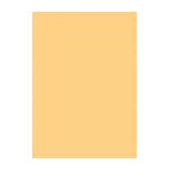 Büngers färgat papper A4 130g brun 50/fp