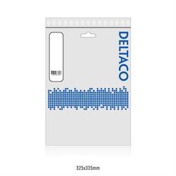 Deltaco DisplayPort-monitorkabel, 4K UHD, DP 1.2, 10m, svart