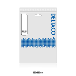 Deltaco DisplayPort-monitorkabel, 4K UHD, DP 1.2, 20m, svart