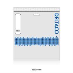 Deltaco DisplayPort-monitorkabel, 4K UHD, DP 1.2, 5m, svart