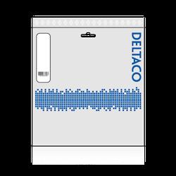 Deltaco DisplayPort-monitorkabel, 4K UHD, DP 1.2, 0.5m, vit