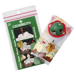 Andningsmask med backventil Cederroth