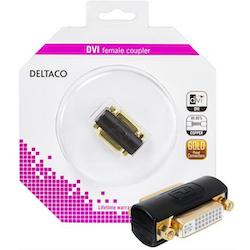 Deltaco DVI-I adapter Ho-Ho Dual Link