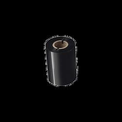 Brother BSP-1D300-080 Svart färgband i premiumvax/-harts 12-Pack