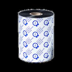 Brother BSP-1D600-110 Svart färgband i premiumvax/harts 6-Pack