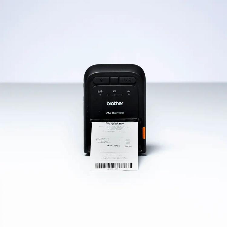 Brother RJ-2055WB mobil kvittoskrivare Wifi/Airprint