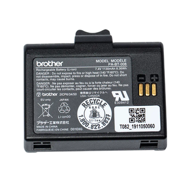 Brother PA-BT-008 Li-ion batteri, passar RJ-2035B/RJ-2055WB