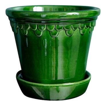 Bergs Potter -  Green Glazed - Copenhagen