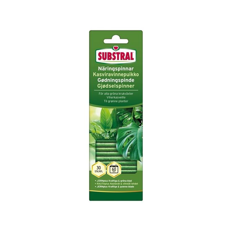 Näringspinnar Gröna krukväxter - Substral