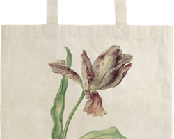 Tygkasse - Tulpan