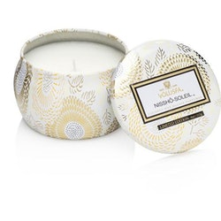 Nissho Soleil - Mini decorative tin candle