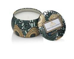 French cade & Lavender - Mini decorative tin candle