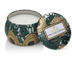 French cade & Lavender - Mini decorative tin candle