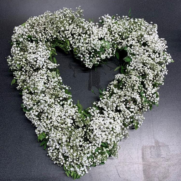 Hjärta Brudslöja - Öppet