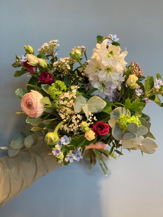 Floristens val - Vitt/blått/rosa/cerise