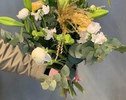 Floristens val - Vit/lime/gul