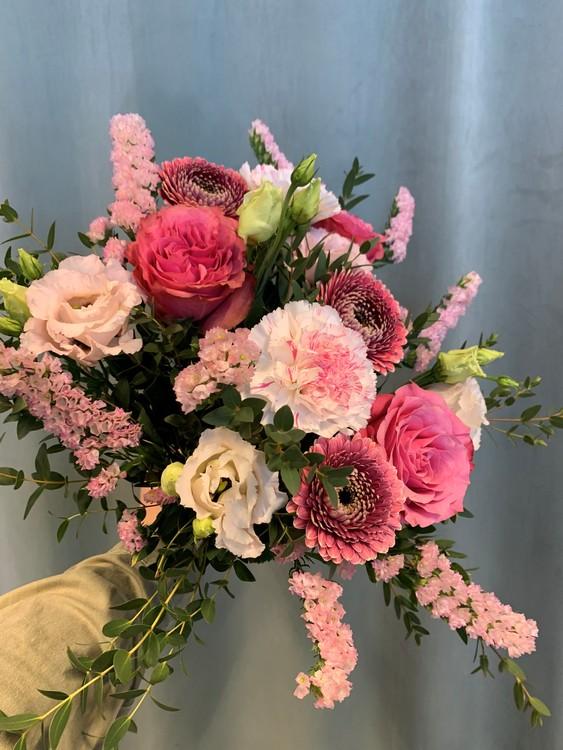 Floristens val - Kompakt i rosa toner
