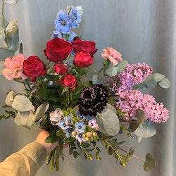Floristens val - Vild i blått/rosa/lila