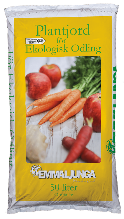 Emmaljunga - Plantjord för ekologisk odling 50L