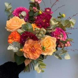 Floristens val - Rosa & Orange