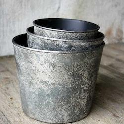 Plastkruka - Silver