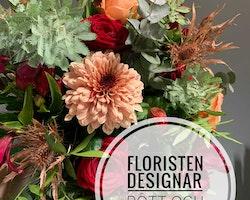 Floristens val - Rött & Aprikos