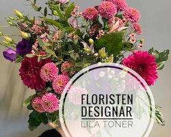 Floristens val - Lila toner