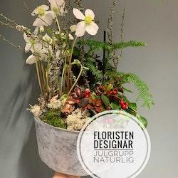 Floristens val - Julgrupp - Naturlig