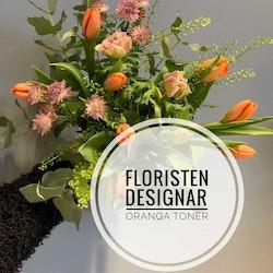Floristens val - Orangea toner