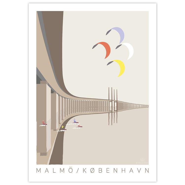 Poster Öresundsbron utan ram