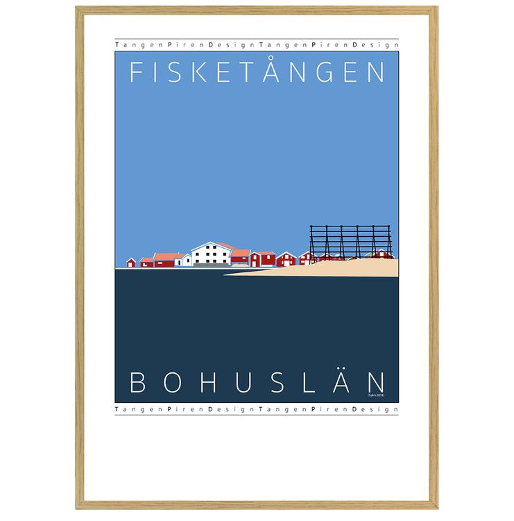Poster Fisketången med ekram
