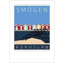 Poster Smögen med Vadbock