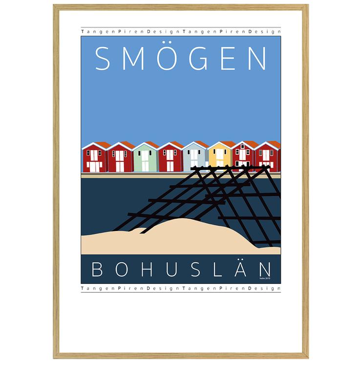 Poster Smögen Vadbock med ekram