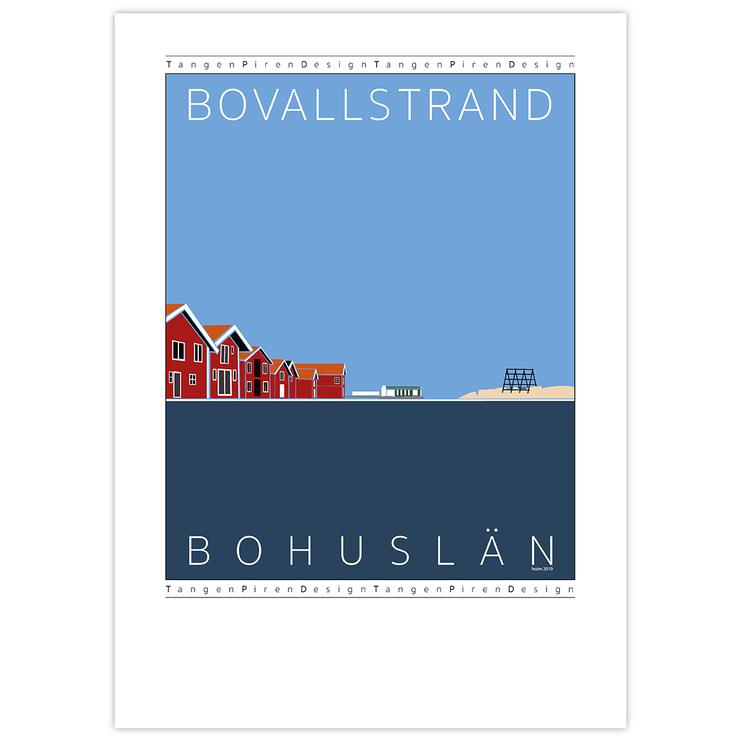 Poster Bovallstrand utan ram