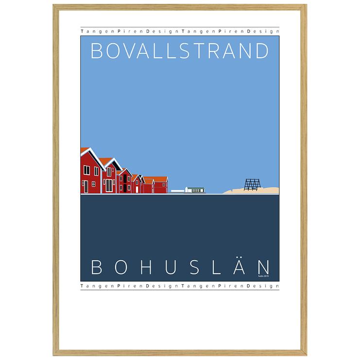 Poster Bovallstrand med ekram