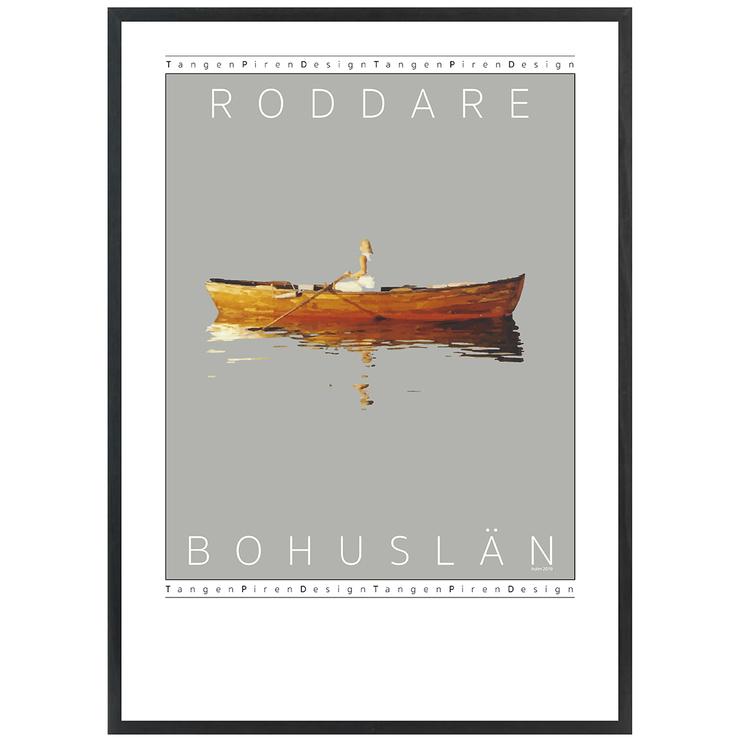 Poster Roddare med svart ram