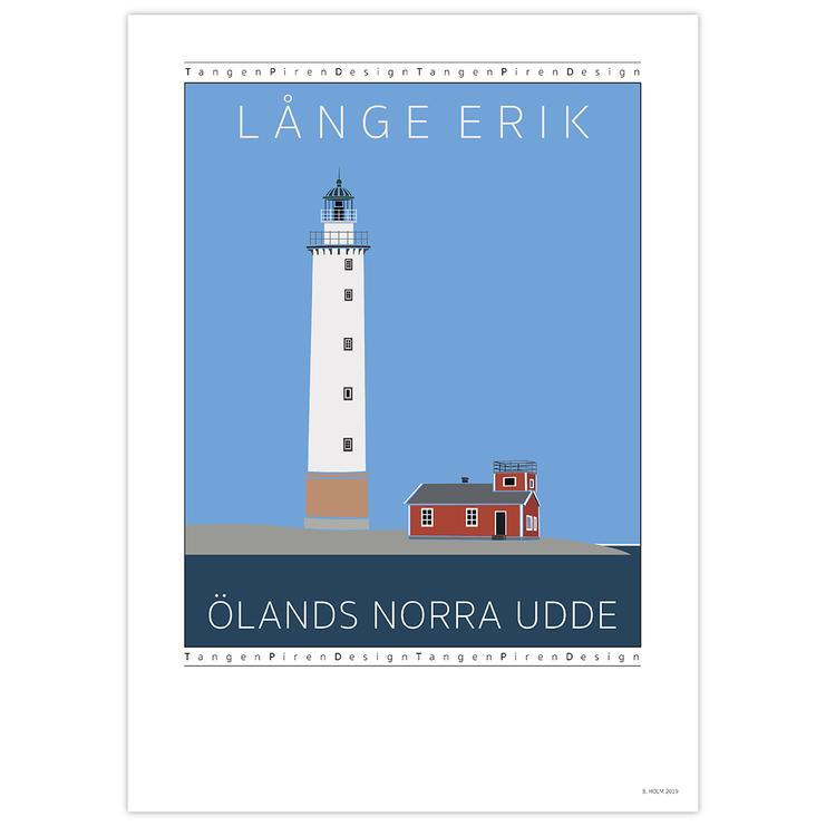 Poster Långe Erik utan ram