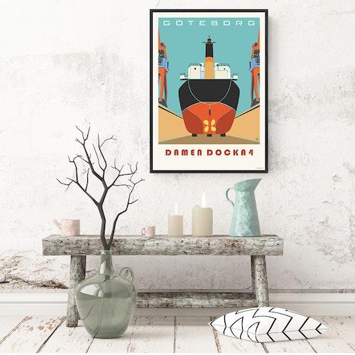 Poster Göteborg Docka 4