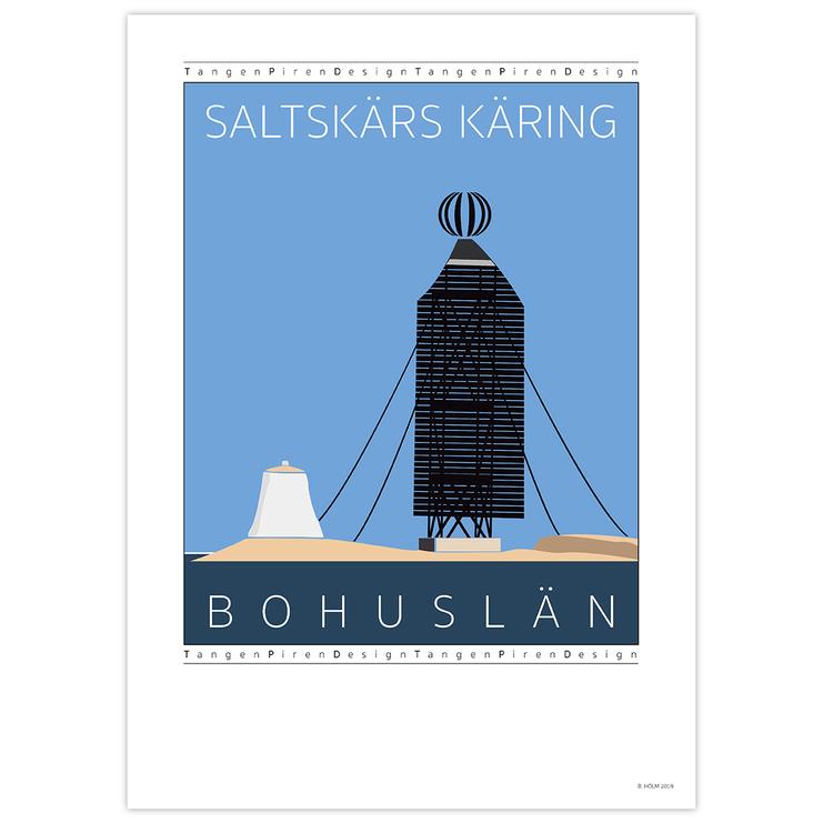 Poster Saltskärs Käring utan ram