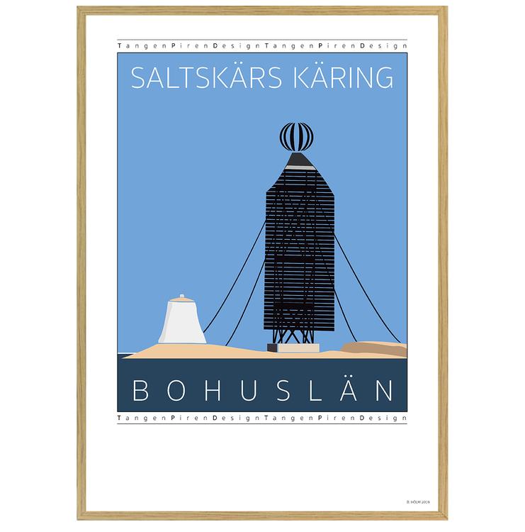 Poster Saltskärs Käring med ekram