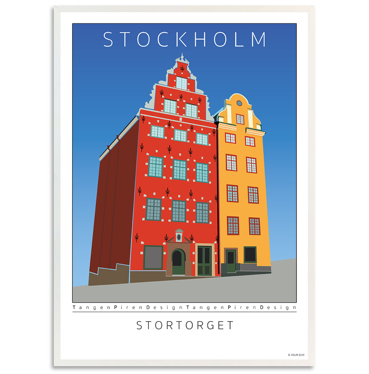 Poster Stockholm Stortorget