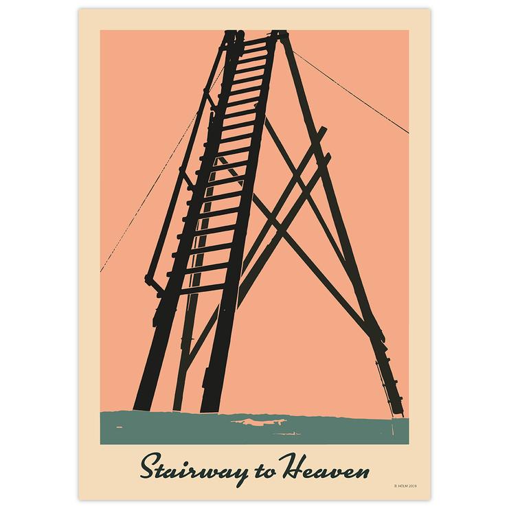 Poster Stairway to Heaven utan ram