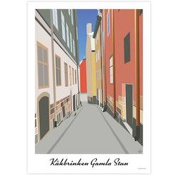 Poster Stockholm Kåkbrinken