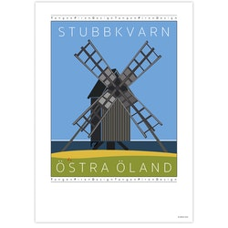 Poster Stubbkvarn Öland