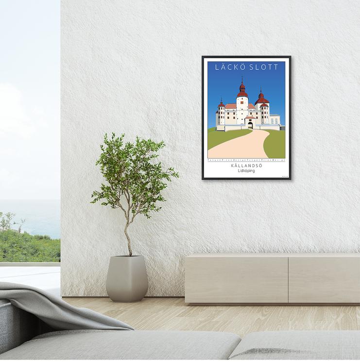 Poster Läckö Slott interior