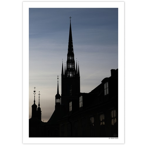 Poster Riddarholmskyrkan 50x70
