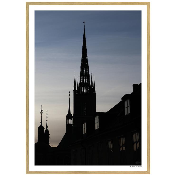 Poster Riddarholmskyrkan med ekram